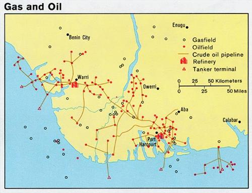 oil map