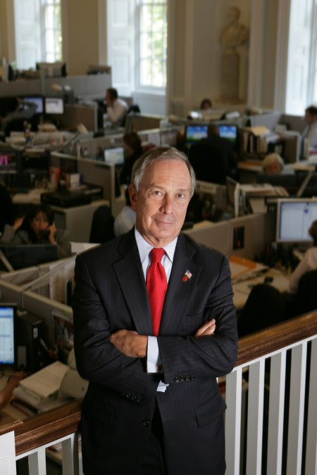 CEO of Bloomberg, Michael Bloomberg