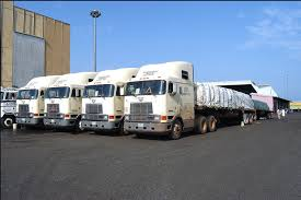 Dangote - hundreds of trucks and heavy plants