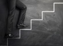 Climbing the career stairs